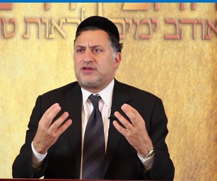 Rabbi Eli Mansour at BJX