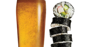 Sushi, Fries and Beer