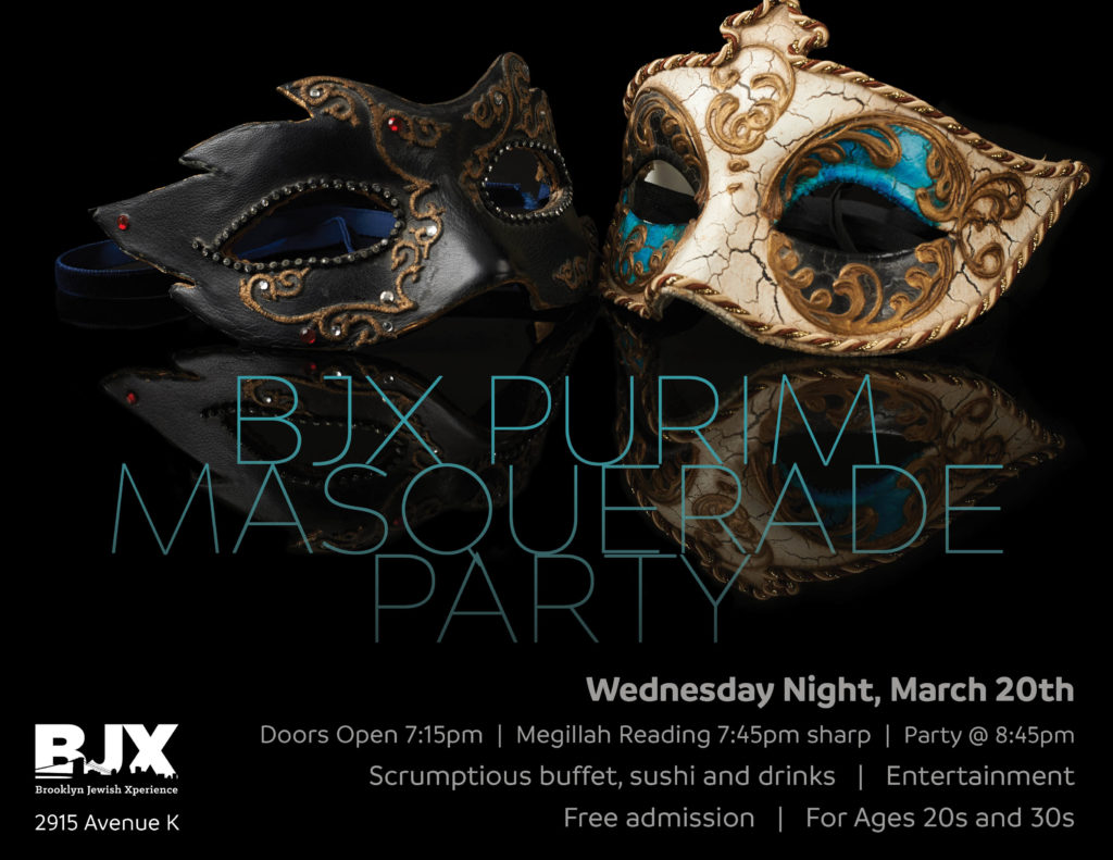 BJX Purim Masquerade Party