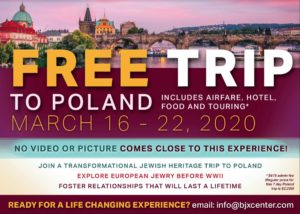 BJX Poland Trip for young Jewish professionals